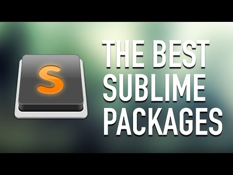 Sublime Text 3 Setup - Most Important Packages