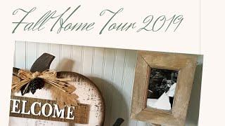 Fall Home Tour 2019   Farmhouse Decor