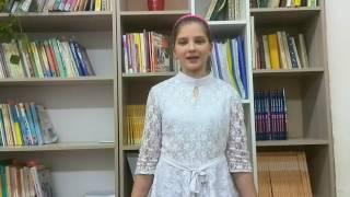 Ксения Коновалова читает произведение «Волк на псарне» И. А. Крылова