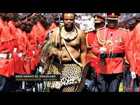 TOP 5 RICHEST KINGS IN AFRICA