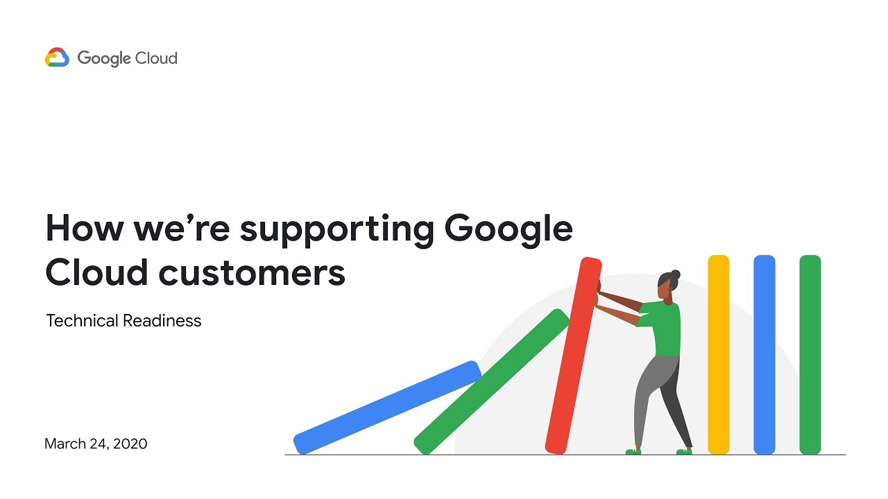 How we're supporting Google Cloud customers