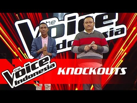Ronald Vs Robin | Knockouts | The Voice Indonesia GTV 2018 - The Voice Indonesia