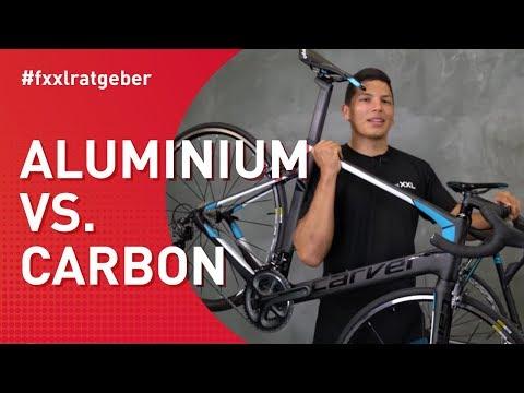 Aluminium vs. Carbon Rennrad