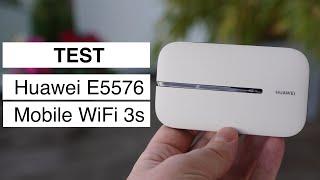 Test: Huawei E5576 LTE Hotspot (Mobile WiFi 3s)