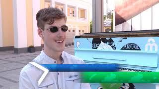 У Харкові встановили розмальовані фортепіано