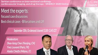 SINERGY 2020 – Meet the experts: Best clinical cases Bifurcations and LM – Case 2