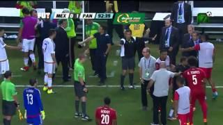 Penal súper polémico a favor de México | Panamá VS México Copa Oro 2015
