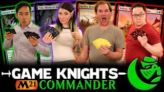 M21 Commander W/ Mr. Infect & Ladee Danger L Game Knights #37 L Magic The Gathering Gameplay
