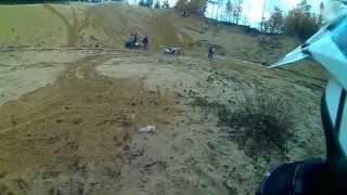 preview picture of video 'Podjazd Niemożliwy Enduro Łańcut Crash Raptor 700'