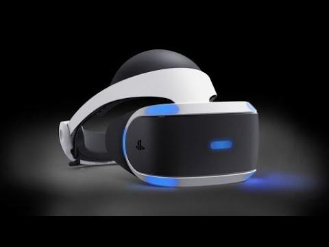 PS 4 PRO первый раз VR шлем
