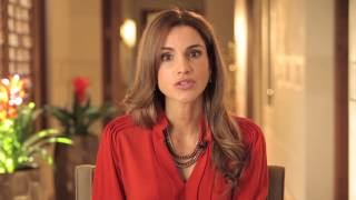 Queen Rania of Jordan knows girls can change the world.