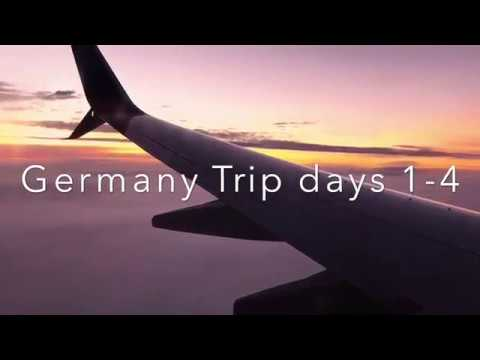 Germany Exchange Trip 2018 (days 1-4)