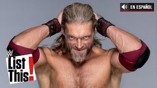 26 datos que debes saber sobre Edge: WWE List This!