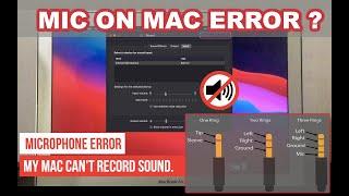 How to Fix Microphone Not Working on Mac (Mic Error)