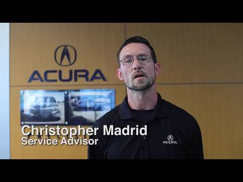 Service Advisor Christopher Madrid