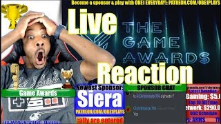 The Game Awards 2017 Live Reaction