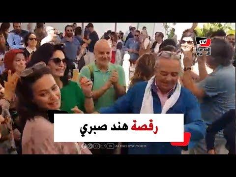 وصلة رقص تونسي من هند صبري في مهرجان قابس