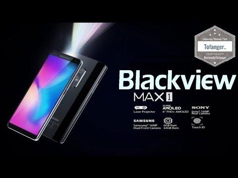Blackview MAX 1 - Smartphone 4G + Video Projecteur - Unboxing