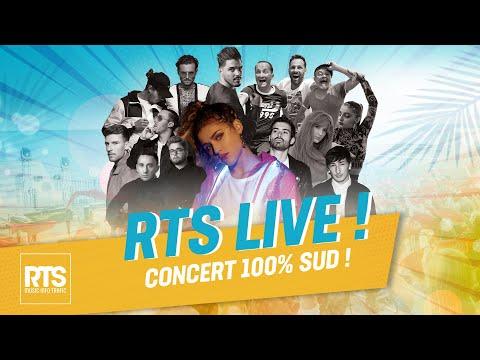 RTS LIVE 100% sud au Théâtre de la mer de Sète