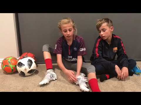 Nike CR7 and Neymar cleats review by Soccer kids
