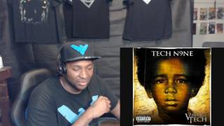 Tech N9ne Now Its On REACTION