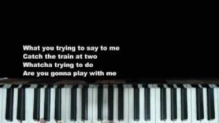 """Adam Lambert """"Pick U Up"""" Piano Cover by Claire Low (GlambertPianist)"""