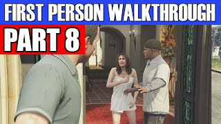 GTA 5 First Person Gameplay Walkthrough Part 8 - THESE GIRLS AINT LOYAL!  | GTA 5 First Person