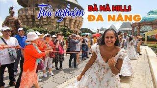 DU LỊCH ĐÀ NẴNG BÀ NÀ HILL ▶ Trải nghiệm Tiên Cảnh mùa Lễ Hội, Cầu Vàng nổi tiếng nhất Việt Nam
