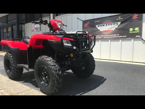 2021 Honda FourTrax Foreman 4x4 ES EPS in Greenville, North Carolina - Video 1