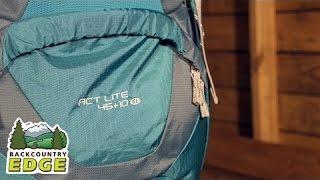 Deuter ACT Lite 45+10 SL Women's Internal Frame Backpack