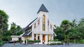 Video Naipospos Tonga Church Design - Tapanuli, Sumatera Utara