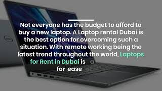How is Hiring Laptops Beneficial in Dubai?