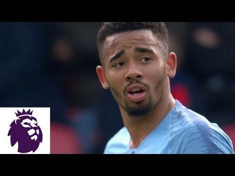 Gabriel Jesus' late score secures victory v. Crystal Palace | Premier League | NBC Sports