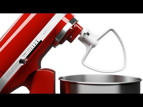 KitchenAid 5KSM3311XEER, Sarkans cena un informācija | Virtuves kombaini | 220.lv