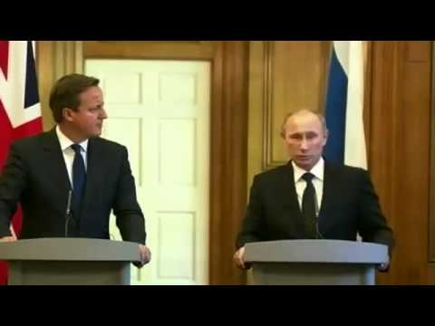 Putin solid punched Cameron:  Syrian rebels cut the dead bodys and eat people guts