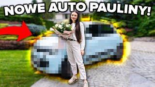 PAULINA DOSTAŁA AUTO!