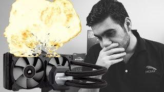 انفجر 💥 المبرد المائي في جهازي 😱