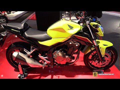 2016 Honda CB500F - Walkaround - 2015 EICMA Mila