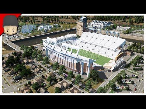 Cities Skylines: Campus - The Stadium!