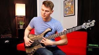 40 Techniques In One Bass Solo
