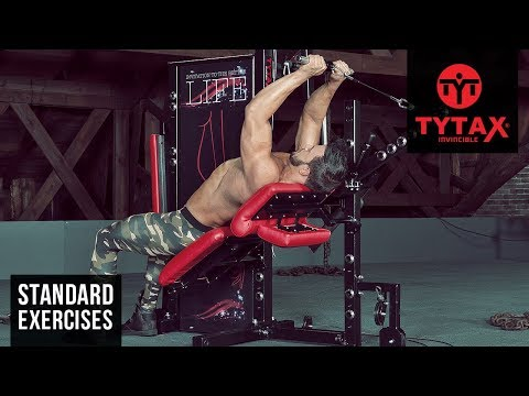 Lever Cable Incline Triceps Extension | TYTAX® S6