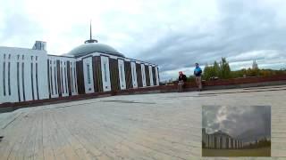 FPV полеты на гоночных квадрокоптерах в Парке Победы