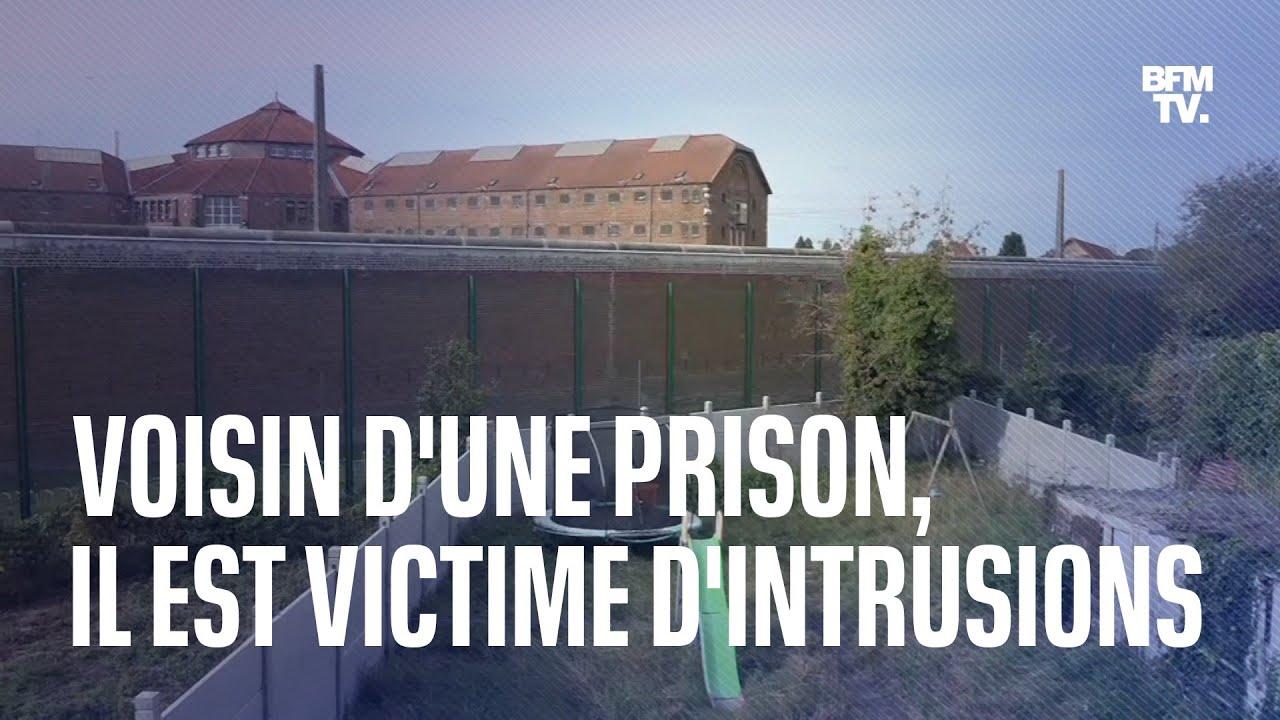 Un voisin de la prison de Douai victime d'intrusions pour d'étonnantes livraisons aux détenus
