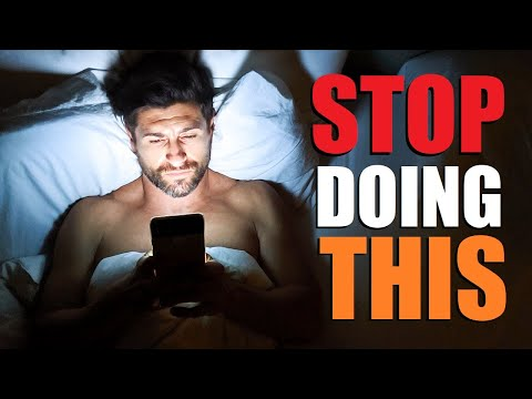7 Things Most Men Do WRONG Every Night!