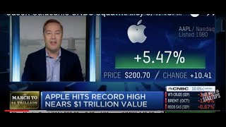 Jason Calacanis CNBC SquawkAlley 8/1/18: Apple all-time high, nears $1t; iPhone sales flat. Why?