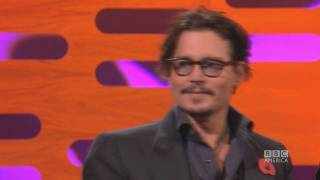 JOHNNY DEPP: Explosives with Hunter S. Thompson (The Graham Norton Show)