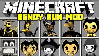 Minecraft Bendy and The Ink Machine Mod! | Bendy, Boris, Alice Angel & More! | Modded Minigame