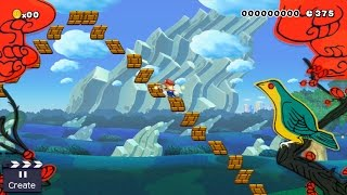 all sound effects and visuals in super mario maker smb 1 1 style