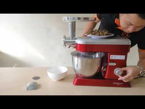 Xay cua đồng bằng Máy làm bếp đa năng gia đình Midimori Kitchen Machine, MDMR - 9818 (1200W) - YouTube