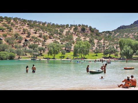 Playa artificial de Zahara de la Sierra - Arroyomolinos